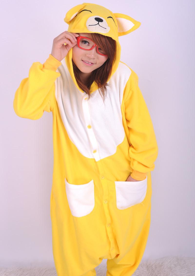New Adult Lady Fashion Animal Polar Fleece font b Kigurumi b font font b Pajamas b Doraemon Animal Costume Kigurumi Pajamas Adult Cosplay Sleepwear