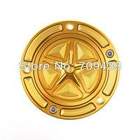 Fuel Gas Tank Cover Cap For YAMAHA R6 1999-2010 R1 1998-2010 R6 S 2006-2010 YZF 600R 1995-1999 FZR 1000 Billet CNC Keyless GOLD
