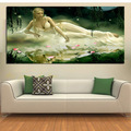 Mercerizing yarn Sleeping Beauty series big picture print