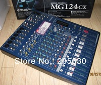 Mg124cx + wholesale  seller  12 mixer belt effects mixers sound mixers   1pcs