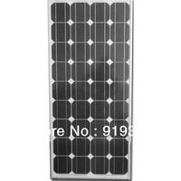 100W mono solar panel, 100W monocrystal solar panel for 12V battery system. 100W PV module