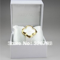 Free shipping+New 100% genuine Mary Kay women  white watch beautiful Fashion Clover mother of pearl limited edition watch