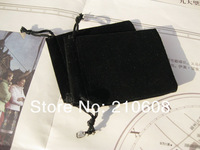 Free Shipping 100pcs 9x12cm Velvet Gift Bags,Black Color Drawstring Gift Bags,Jewlery Bags Wedding packaging Pouches
