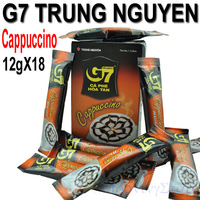 216g Original TRUNG NGUYEN G7 Cappuccino soluble instant coffee  18*12g/bag