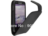 Hot! Top Quality Flip PU Leather Case For Lenovo A750 Pouch Bag Cover Free Shipping