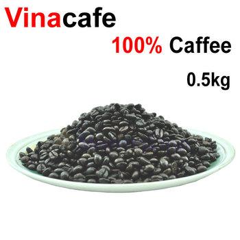 500g High-quality Original Vietnam Vina Coffee Beans Baking charcoal roasted coffee