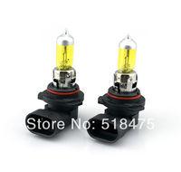 Free Shipping 2 X HB4/9006 Amber / Yellow 100W Xenon Gas Halogen 12V Car Fog Lights Lamp 3000~3500K