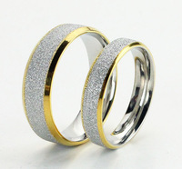 Accessories jewelry titanium lettering male single ring a pair of lovers ring