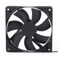 Power supply fan 12cm computer power supply silent fan 12 computer case fan pc power supply fan