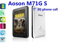 "7"" Aoson M71G S Phone Call tablet pc Allwinner A10 GSM 3G WCDMA Multi-touch Capacitive Screen Bluetooth HDMI WIFI Camera Tablet"