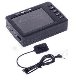 "2.5"" Angel Eye Mini Video Recording System KS-750M Button DVR Video Recorder(China (Mainland))"