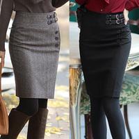 Plus size medium skirt female bust skirt women's skirt slim hip skirt