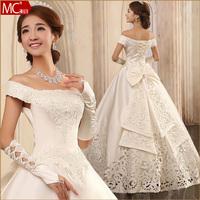 Wedding dress quality fashion wedding qi formal dress 2013 h