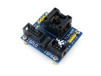 T13+ ADP ATtiny13 ATtiny12 ATtiny15 ATtiny25 SOIC8 (150 mil) AVR Programming Adapter Test Socket