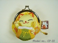 **Hot Sale**Japan!!Lucky Cat Coin Purse/Purse/Wallet/Coin Bag/Genuine Goods100% (CP-01)-Green-