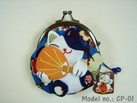 Lucky Cat Coin Purse/Purse/Wallet/Coin Bag/Coin Purse/Genuine Goods100% (CP-01)