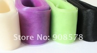 """3/8""""(10cm) Horsehair Mesh Organza Fabric Millinery Triming 100yards a lot 30#"""