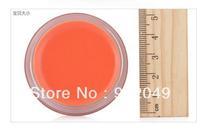 Sleek watercolor embellishers lip balm spf15 orange frozen lips lip gloss nude color lip gloss make-up TR-082