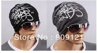 20pcs/lot Unisex Korea Style Hat Solid Fashion Cap Hiphop Hat With Letters Printed Mas Hat Free Shipping