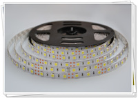 IP20 Non-Waterproof, 14.4W 60pcs SMD5050 led strip light, free shipping for 50 meters/lot