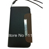 Hot Sell Case and Wallet Style Leather Case for ( Black)