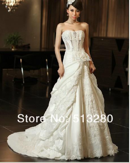 O novo sutiã de casamento tailing noiva casamento vestido de casamento sexy boutique oco CH218(China (Mainland))