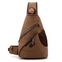 big size Brown color' travel Casual student simple cool High Quality of 100% canvas with Shoulder hand bag, Free Shipping