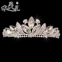 Crystal the bride wedding dress hair accessory the wedding hair accessory marriage accessories