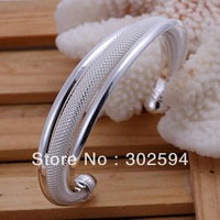 GSSB019 Christmas Valentine's day gift silver bracelet Hypotenuse bracelet, high quality fashion bangle ,bangles