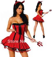 Halloween Sexy succuba Jumpsuits cloth,Performance uniform,role play ,elastic.Free shipping!