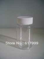 FREE SHIPPING wholesales  150 plastic bottle 150g large transparent pet bottle solid bottle 50pcs/lot