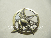 Brooch---The Hunger Games brooch with a pin at the back
