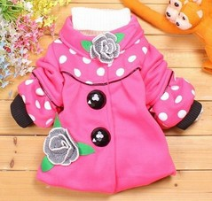 hot sale!! autumn and winter child outerwear children coat children clothing girl jackets girl's outwear.(China (Mainland))