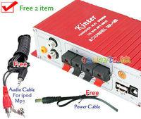 USB Mini Hi-Fi Audio Stereo Digital Car Amplifier Motorcycle Boat mp3 ipod/Home Music #A10