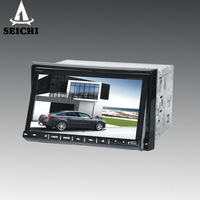 7 inch Double Din Car DVD Player with BT