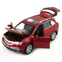 In car toy acura mdx alloy car model WARRIOR acoustooptical