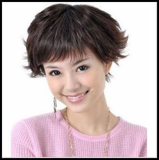 Free shipping* Wig a1226-3 elegant small short roll mo dj-338(China (Mainland))