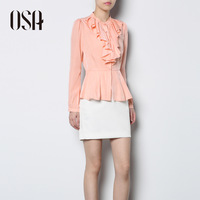 Osa2013 spring shirt women's long-sleeve slim casual shirt c33003 spring