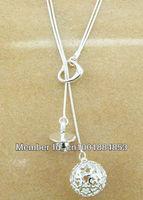 GY-PN023 Free Shipping 925 Silver fashion jewelry pendant Chain Necklace , 925 silver jewelry hdfa puma ylva