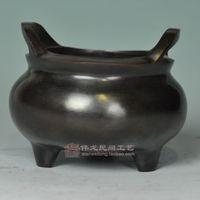 Antique bronze device decoration small ingot furnace antique decoration technology home decoration business gift