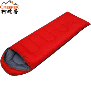 Camping envelope sleeping bag camping sleeping bag adult ultra-light sleeping bag outdoor sleeping bag