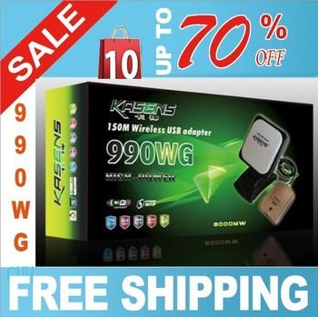kasens 990WG  wifi  adapter wireless USB Adaptador 6000MW
