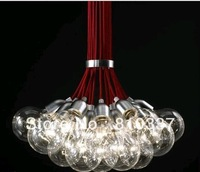 New 19 Lights Idle Max Sea Urchins Glass Ceiling Light Lamp Chandelier EMS dining room lights  free shipping
