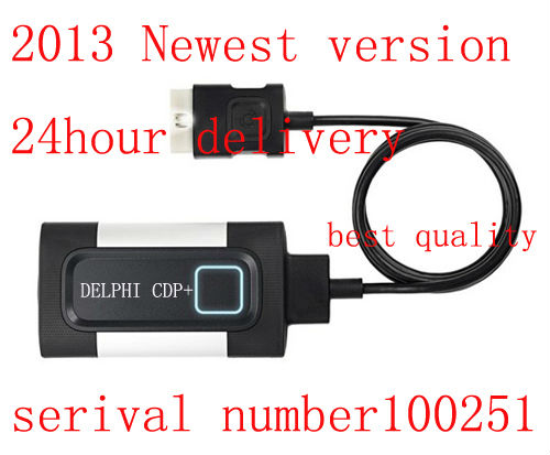 Great quality for new DELPHI CDP+ free technical support DELPHI have a Intelligent System scans for cars and trucks,freeship(China (Mainland))