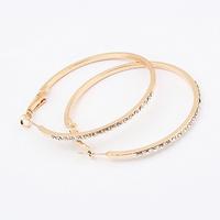 Min.order $10(mix) hoop earring fashion jewelry wholesale metal earrings for women 2013