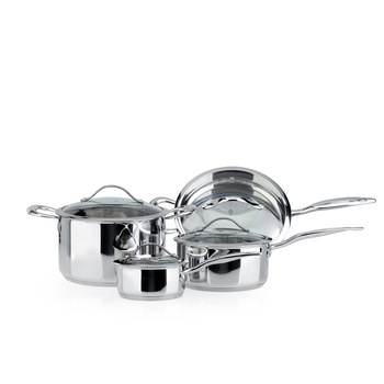 Koizumi steel cookware combination high quality medical s80310100 stainless steel cookware set