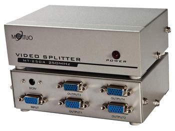 Manufacturers selling maxtor MT - 2504 250 m VGA screen editor/VGA divider/VGA splitter 4 mouth