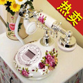 Free shipping ceramic antique phone fashion of Europe type style restoring ancient ways of rural elegant telephone(China (Mainland))