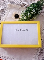Free shipping !2pcs/lot 50 Slots Jewelry Display Rings Organizer Show Case Holder Box ,Yellow Boxes For Ring