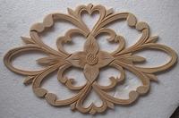 Dongyang wood carving applique fashion home decoration carved wood shavings applique 37 23cm wood applique